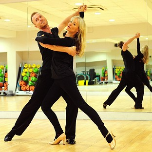 Denise Van Outen and James Jordan scored 37 for their American Smooth