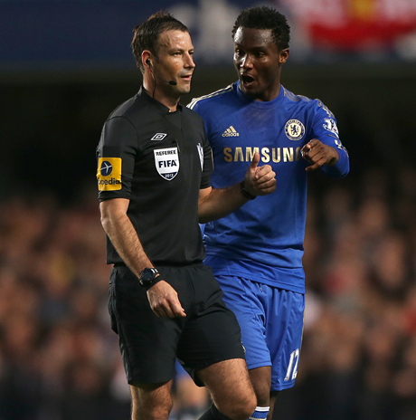 Premier League referee Mark Clattenburg has been cleared of allegations he made a racist remark to Chelsea midfielder John Obi Mikel