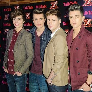 Union J will be cheering for Jahmene and James in the X Factor final