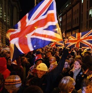 More violence has broken out in Belfast over the flying of Union flags