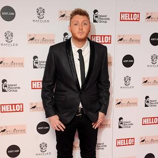 James Arthur is ready to record his album