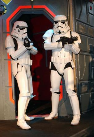 Kingston protected against Stormtroopers with 608 Jedi in the borough