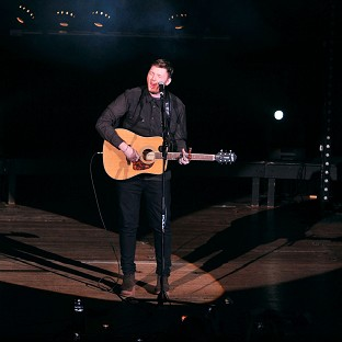 James Arthur's single Impossible looks set to top the charts this wee