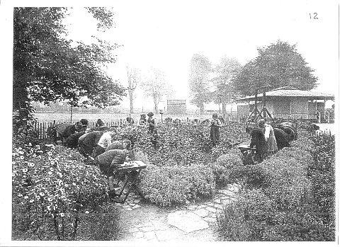 Charlton Park open air school, picture courtesy of George Burton