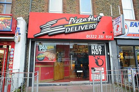 Pizza Hut in Bexley Road, Erith.
