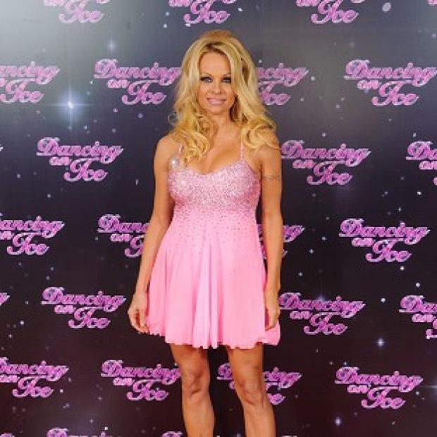 This Is Local London: Pamela Anderson went out of Dancing On Ice in the first show
