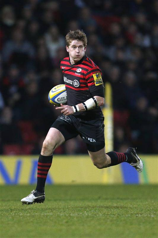 Saracens' Strettle called up for England