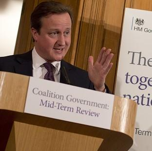 Prime Minister David Cameron insisted real-terms welfare cuts are 'fair and right'