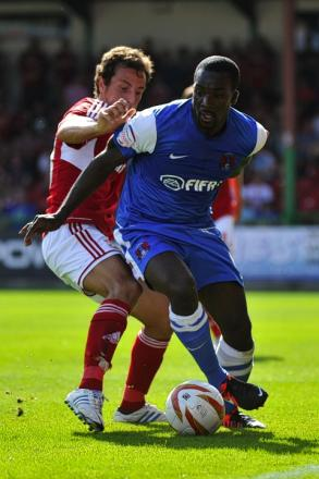 Leyton Orient midfielder Anthony Griffith: Action Images