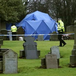 The remains of Moira Anderson have not been found during a search of a grave plot at Old Monkland Cemetery in Coatbridge