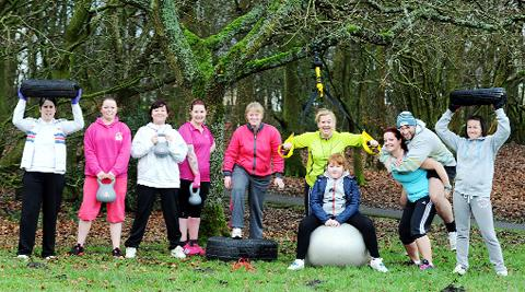 This Is Local London: The bootcamp in Cutwood Park
