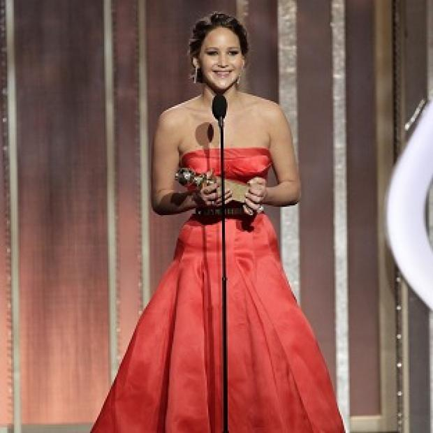 Jennifer Lawrence won a Golden Globe for Silver Linings Playbook