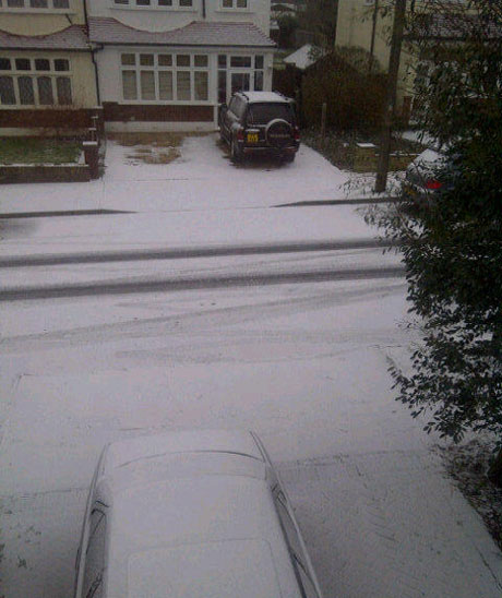 Snow in Beckenham