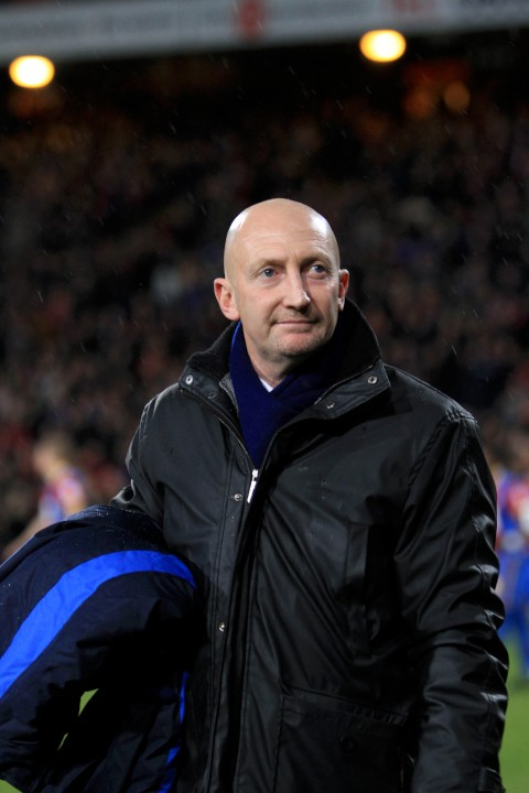 Holloway: Pleased with the impact of the new Palace boys