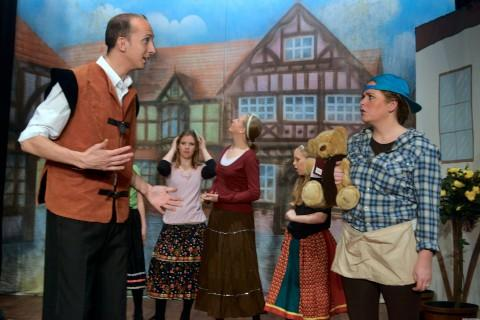 Crowd-pleaser: The Desborough Players attracted big crowds