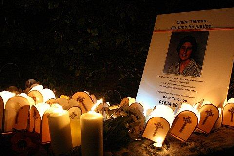 Friday's event marked the 20th anniversary of Claire Tiltman's brutal murder