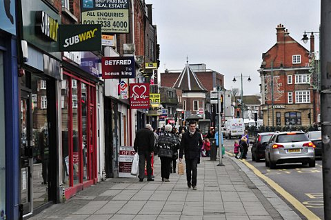 Retailers said they believe Epsom town centre is