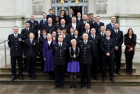 The police awards ceremony was held at Guildhall last Wednesday