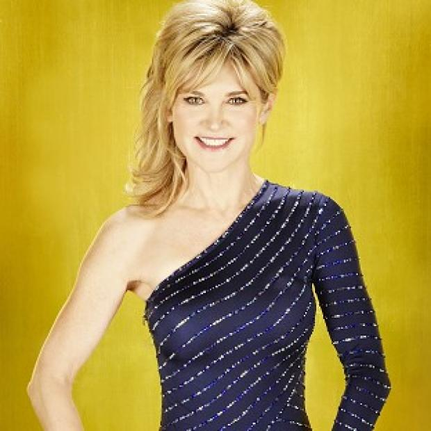 Anthea Turner wore Pamela Anderson's costume for her Dancing On Ice skate-off