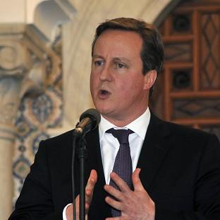 David Cameron said it is important for donor nations to 'look at those things that keep countries poor'