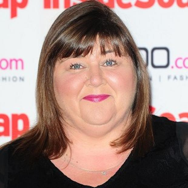 Cheryl Fergison said she was chuffed to be cast in The Spa