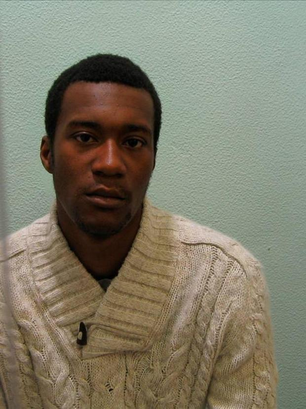 Myles Joseph-Daay, of Thrupp Close, Mitcham, was found hiding in the child's bedroom of an associate