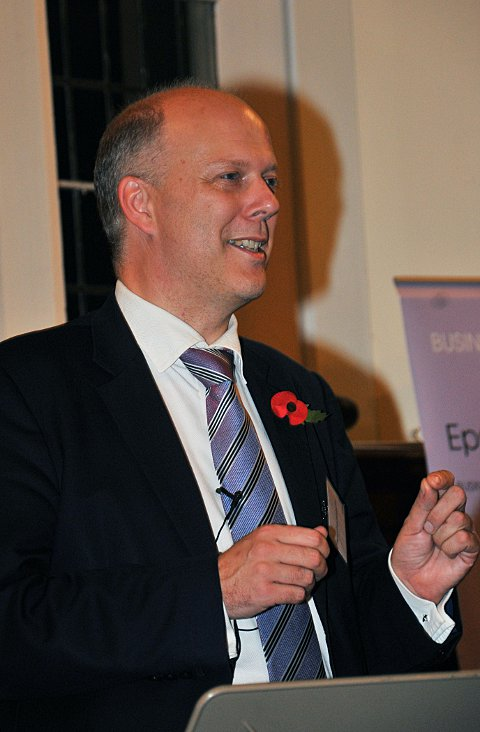 Chris Grayling MP believes the future of Epsom Hospital is now in the hands of the area's GPs