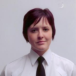 This Is Local London: Constable Philippa Reynolds, 27, who died when the unmarked police car she was travelling in turned into the path of a stolen 4x4 in Londonderry (PSNI)