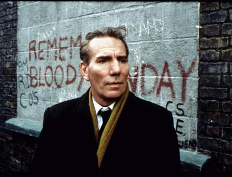 Pete Postlethwaite in the hard-hitting film In the Name of the Father