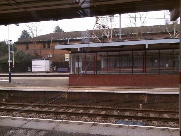 Power cut at Radlett station