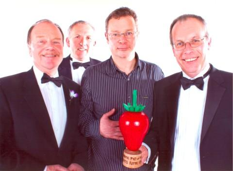 Cherry on top: Hugh Fearnley-Whittingstall presented the award