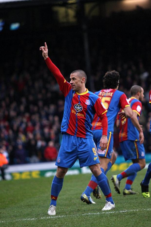 Age old story: Kevin Phillips is fast becoming a favourite with the Crystal Palace faithful   SP72947