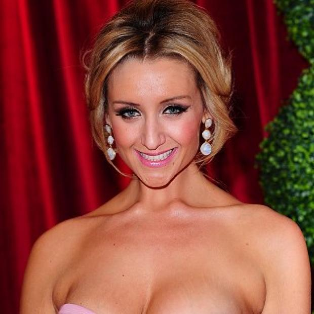 This Is Local London: Catherine Tyldesley took to Twitter to defend her donation
