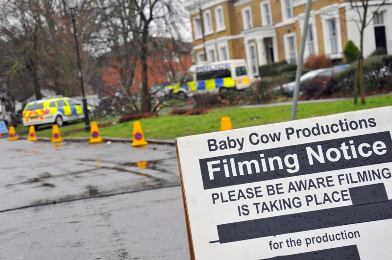 Knowing Mitcham, Knowing You - film crew arrive for Alan Partridge movie