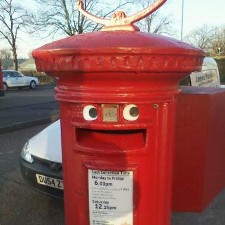 This Is Local London: A happy post box in Sutton