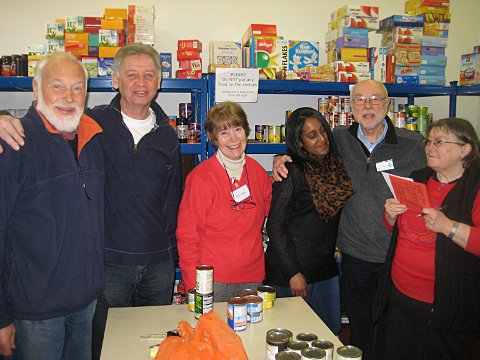 Lewisham Food Bank fights to feed the borough's hidden hungry
