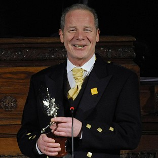Peter Mullan stars in the film Sunshine On Leith