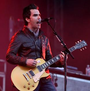 The Stereophonics' new album Graffiti On The Train is number three in the UK chart