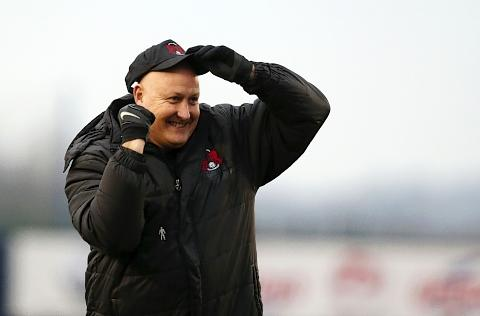 This Is Local London: Russell Slade was delighted with their win over Shrewsbury Town: Simon O'Connor