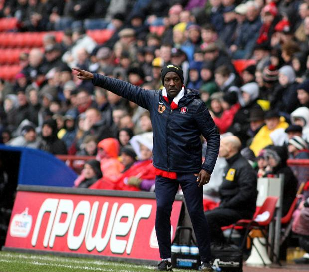 It was another tough day for Chris Powell at The Valley. PICTURE BY EDMUND BOYDEN.