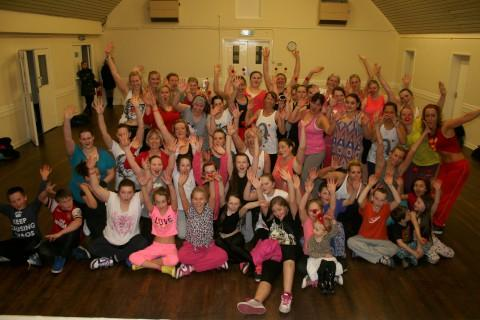 Chessington zumba class Calvin Avery raised £387 for Comic Relief