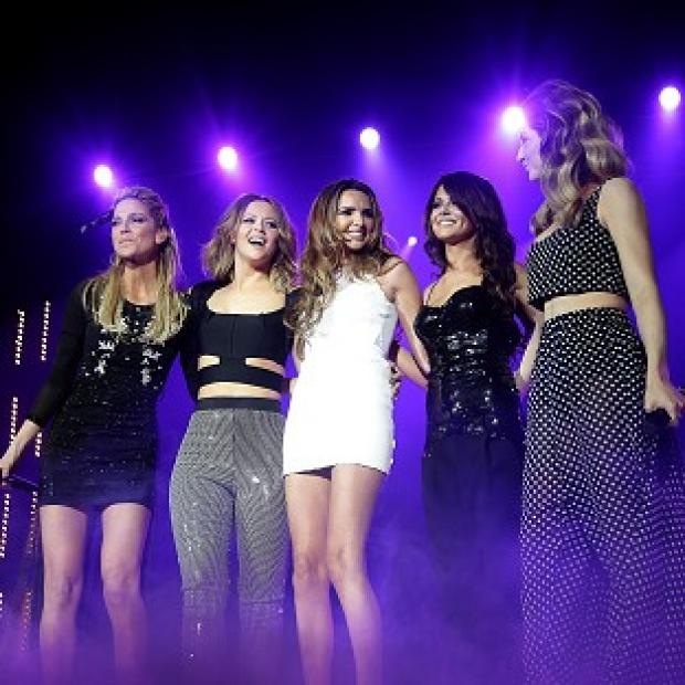 Girls Aloud reunited for the 12-date UK tour after spending three years on solo projects