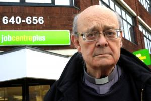 Retired vicar battles council over 'posh walkway for Spurs'