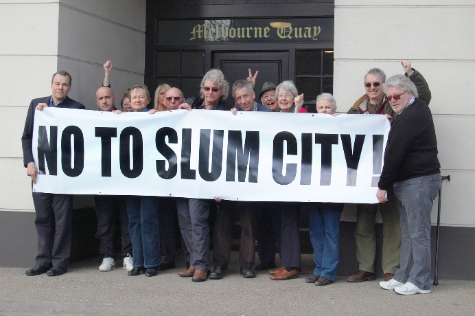 This Is Local London: Heritage Quarter protesters