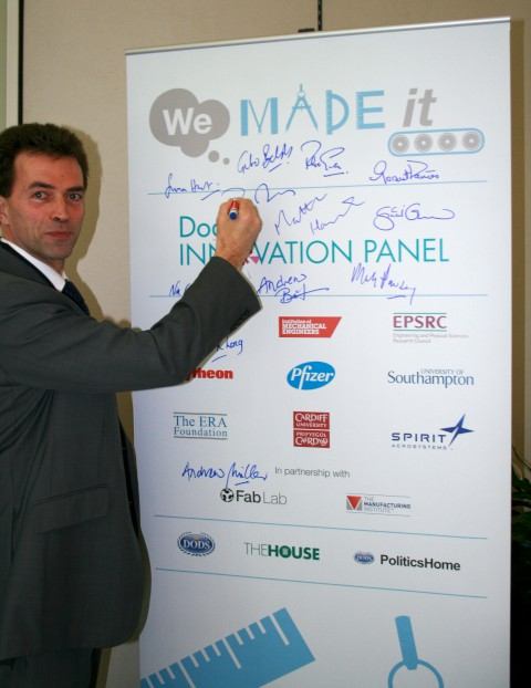 MP for Carshalton and Wallington Tom Brake launched the We Made It! competition last week