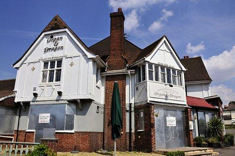 The ex-Organ and Dragon pub, on London Road, Ewell, is to be demolished