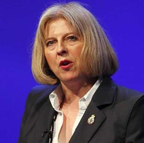 Home Secretary Theresa May proposed changes