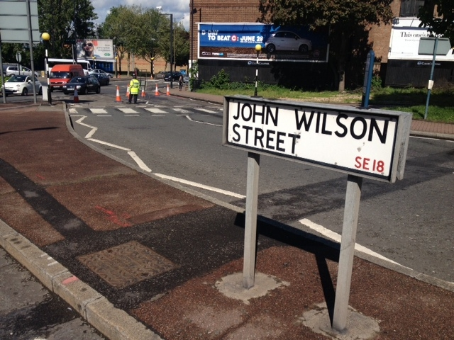 This Is Local London: John Wilson Street, Woolwich, (Alan Woods)