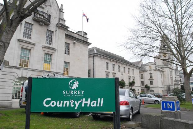 HQ: Surrey County Council has been helping business