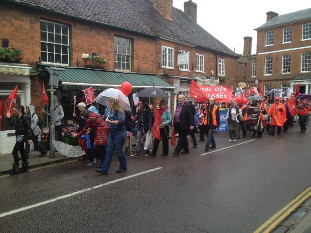 This Is Local London: Lewisham Hospital campaigners take fight to Health Secretary's home town
